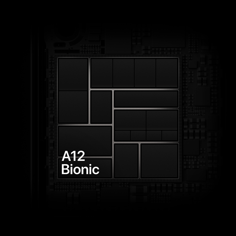 The iPhone XR comes with the A12 Bionic chip.