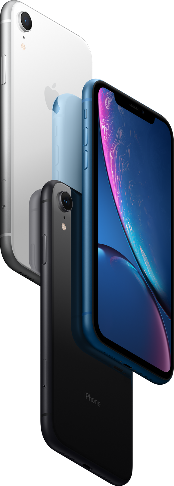 iPhone XR has an advanced LCD screen.