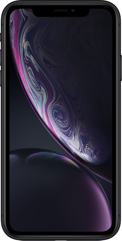iPhone XR's Liquid Retina screen.